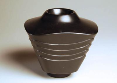 Faux Wave Vase